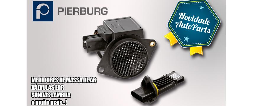 AutoParts disponibiliza material Pierburg