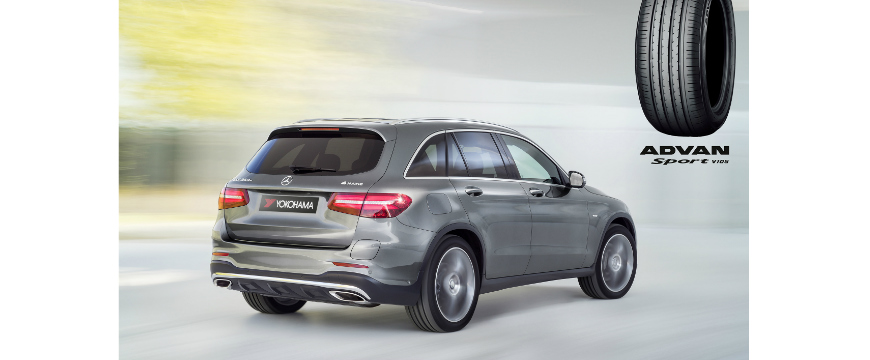 Yokohama Advan Sport no Mercedes GLC
