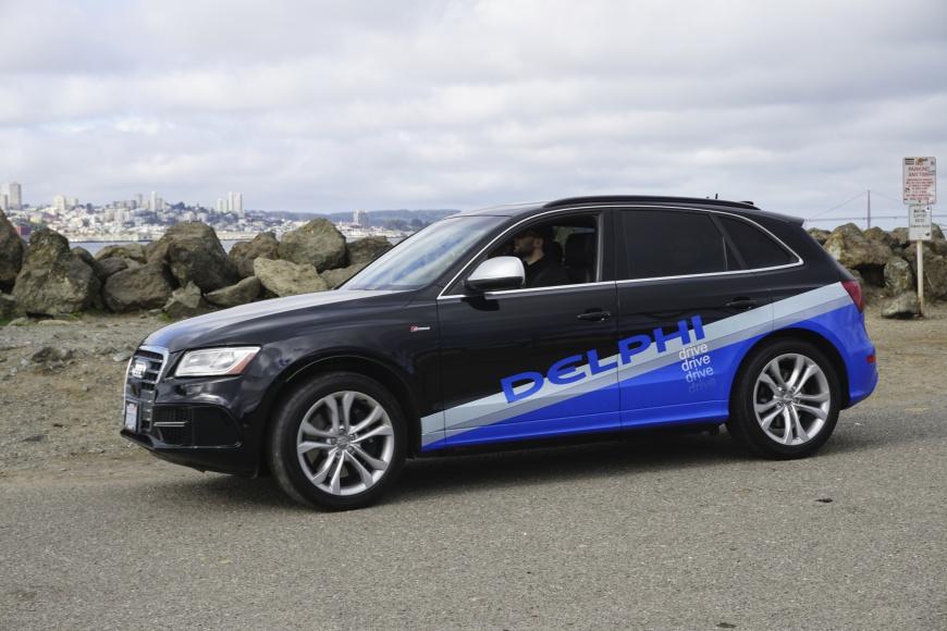 Delphi condução autónoma