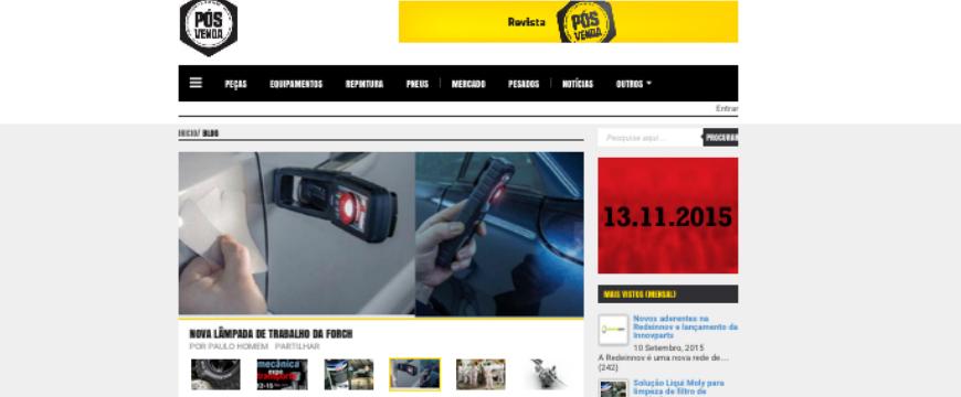 Site Revista Pós-Venda
