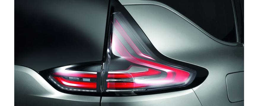 iluminação Hella no Renault Espace