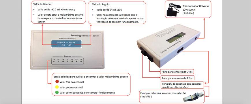 sensores de direção Vieira & Freitas