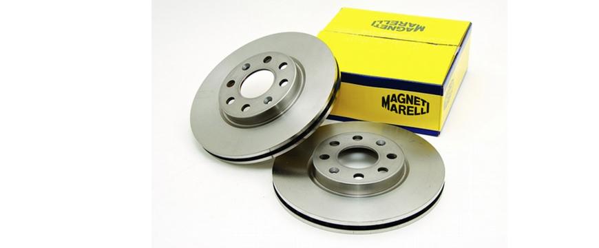 Nova gama de discos de travão Magneti Marelli