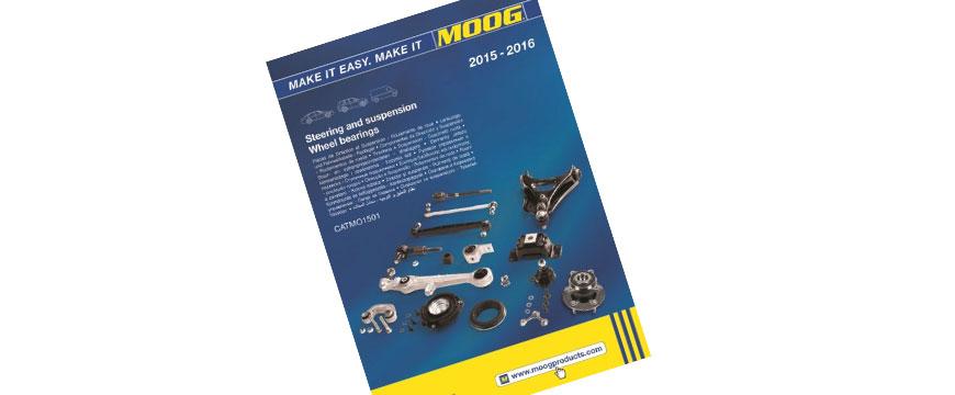 Novo catálogo Moog