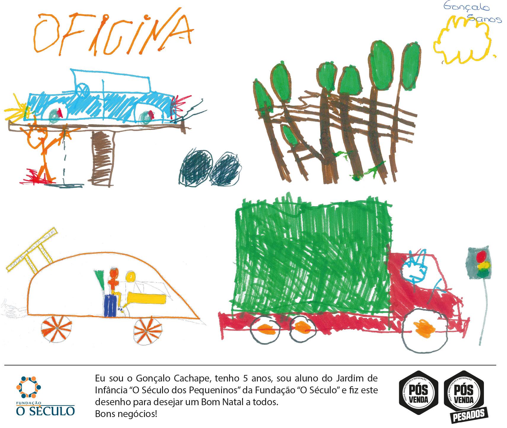 Postal de Natal Revista pós-venda