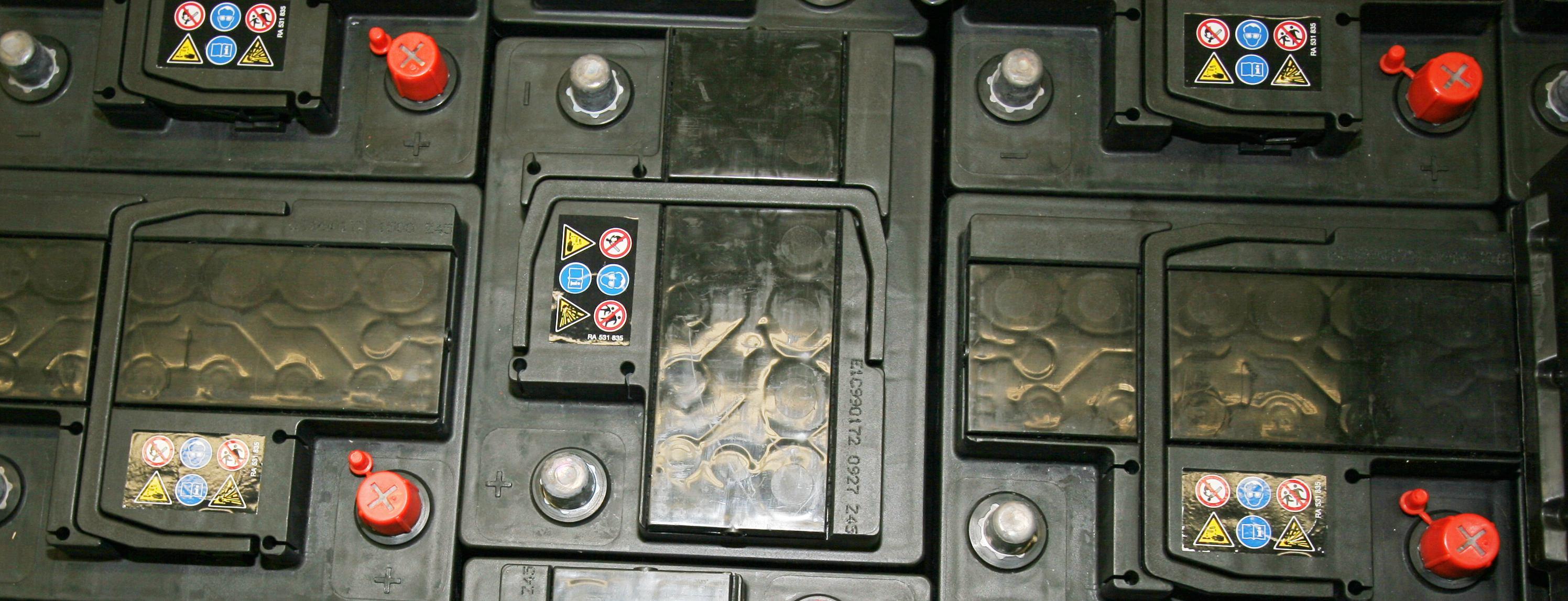 baterias usadas Valorcar
