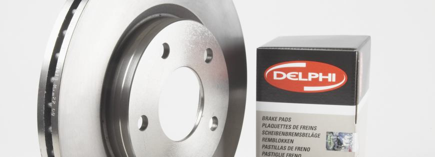 Novo produto de limpeza de travões Delphi