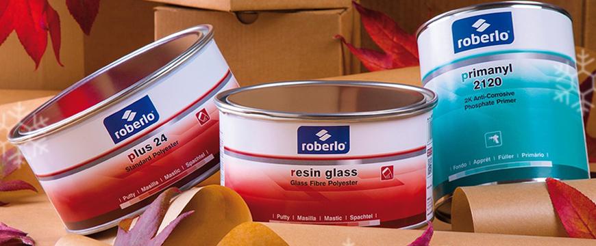 Novos produtos Roberlo