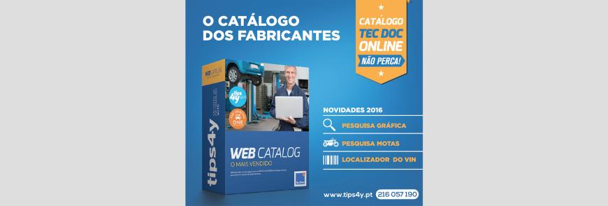Novidades 2016 no Catálogo TecDoc disponibilizadas pela Tips 4Y