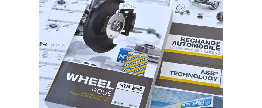 Catálogo rolamentos de roda NTN-SNR