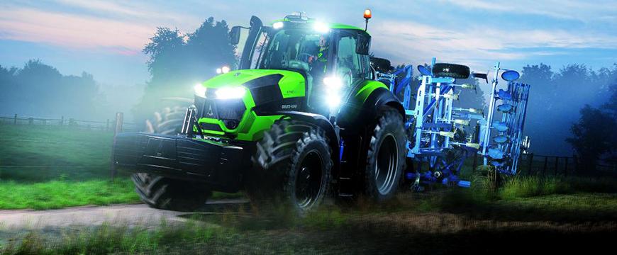 Hella iluminação agrícola