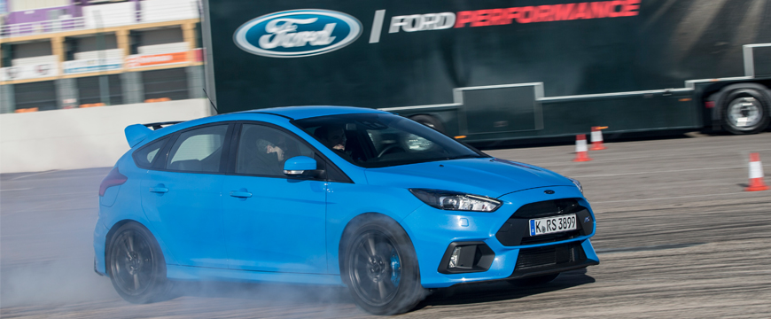 Ford Focus RS monta Michelin em exclusivo