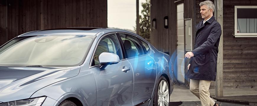 Volvo carro sem chave