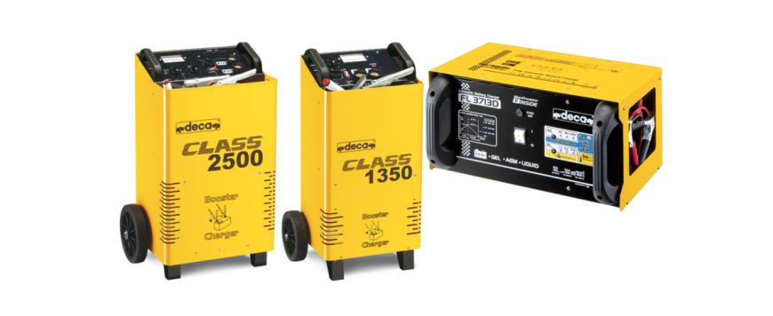 Tecniverca disponibiliza carregadores de bateria DECA