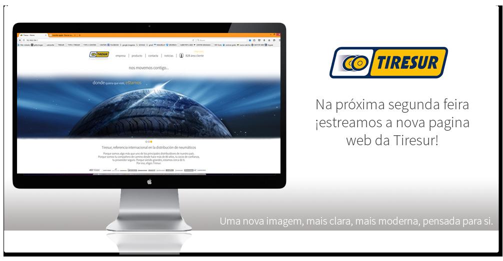 Tiresur apresenta novo website