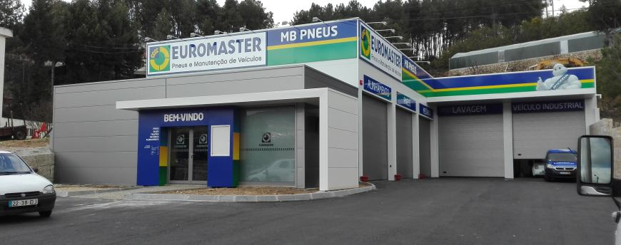 mb pneus com novo posto na rede euromaster revista p s venda. Black Bedroom Furniture Sets. Home Design Ideas