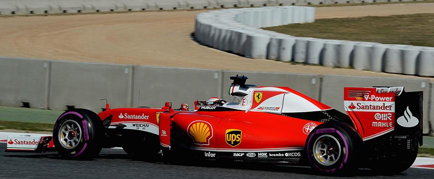 Parceria Ferrari e NGK na Fórmula 1
