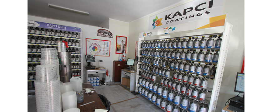 JCCOR importador Kapci Coatings