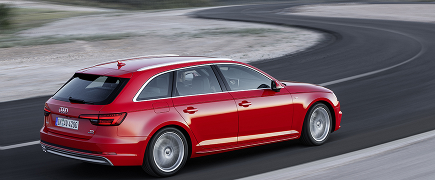 Pastilhas Eco-Friction no Audi A4