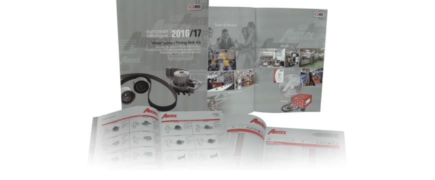 Novo catálogo Airtex