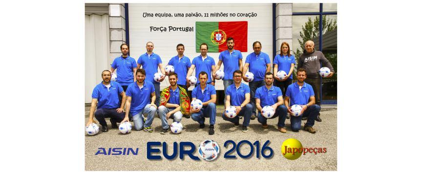 Japopeças e AISIN dinamizam parceria EURO 2016