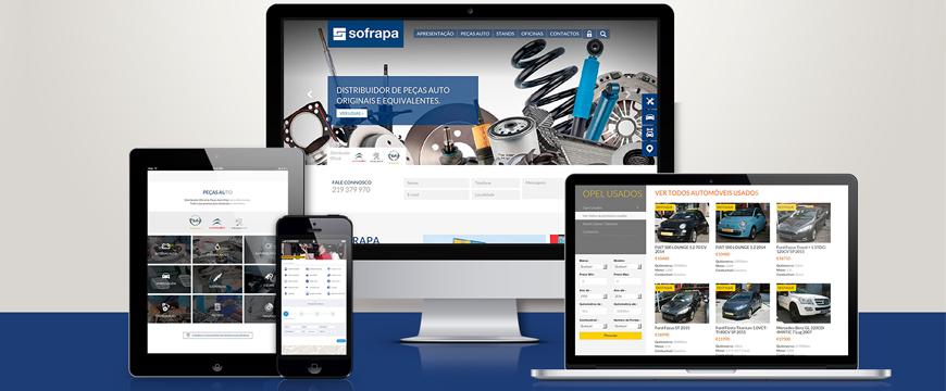 Novo site Sofrapa