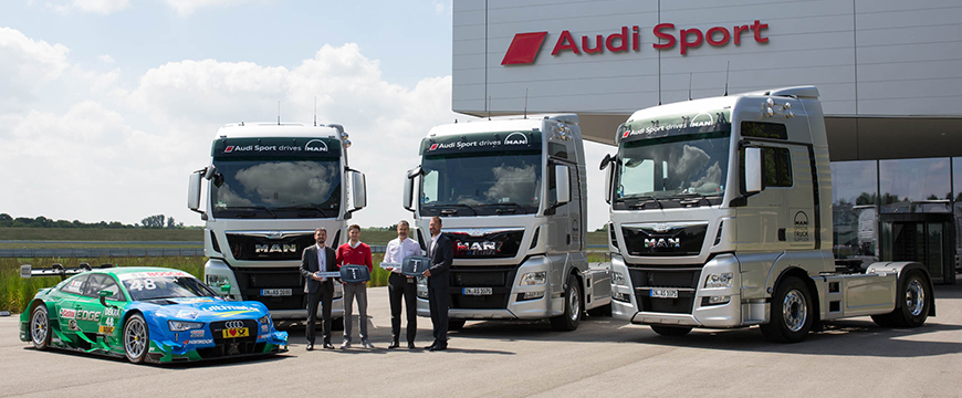 Audi Sport e MAN