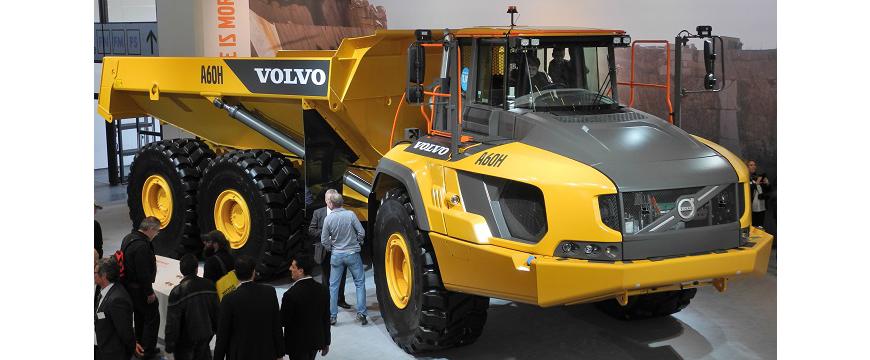 Goodyear desenvolve pneu OTR para Volvo