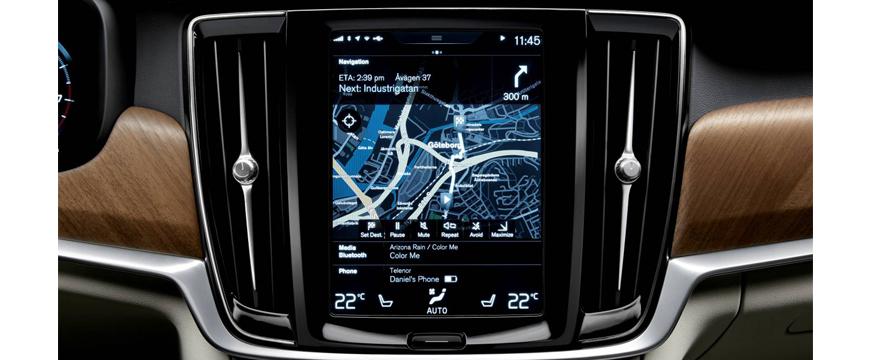 Mapas Tom Tom na Volvo