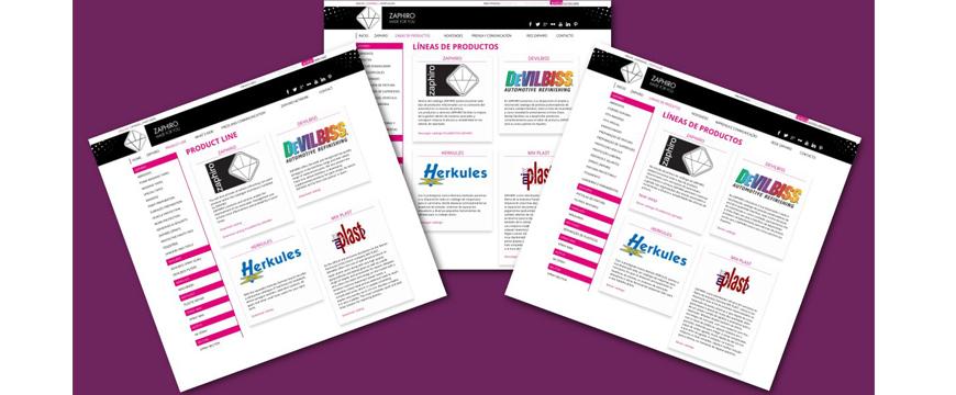 Catálogo digital da Zaphiro agora em português