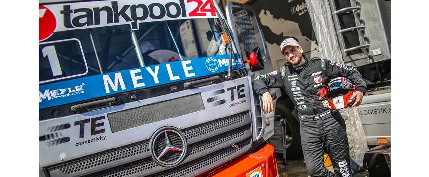 Apoios de motor Meyle testados em camiões de corrida