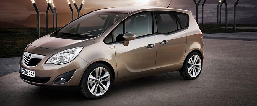 Opel Meriva recall