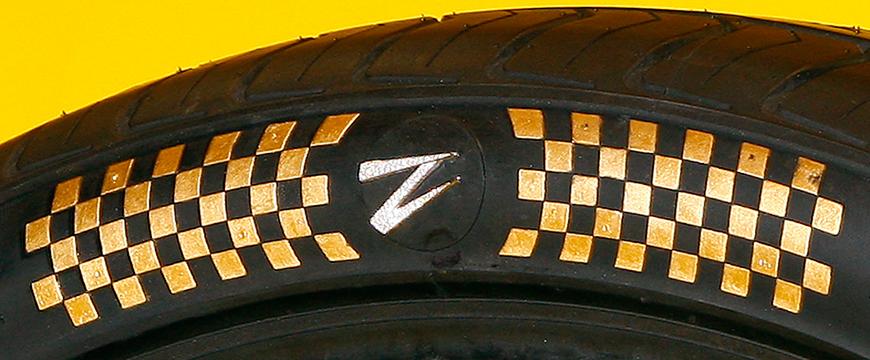 Jogo de pneus mais caro do mundo é da Z Tyre