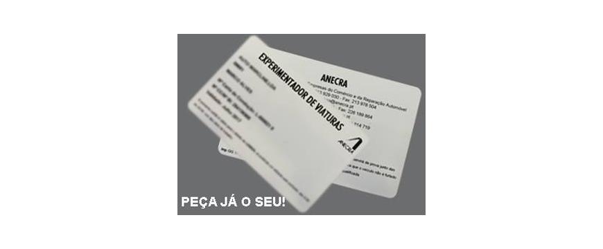 cartão ANECRA