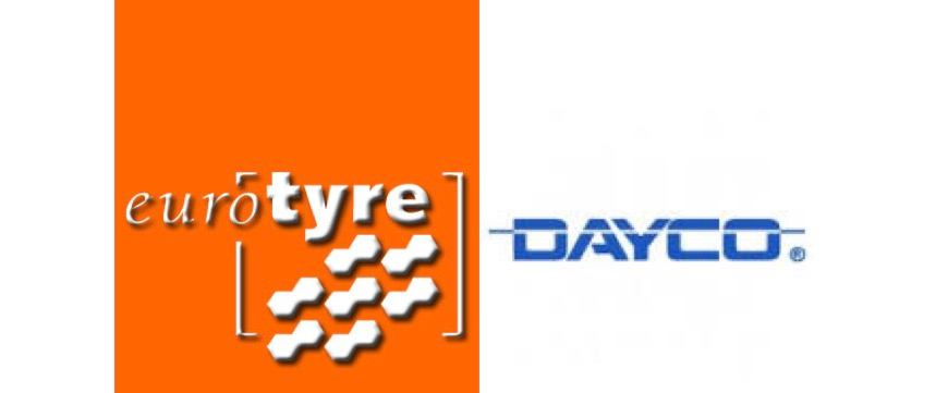 Dayco também no portfólio da Euro Tyre