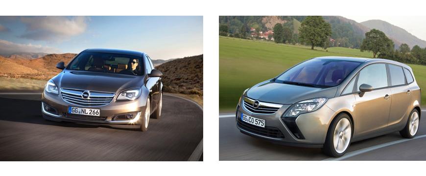 Recall Opel Zafira e Insignia