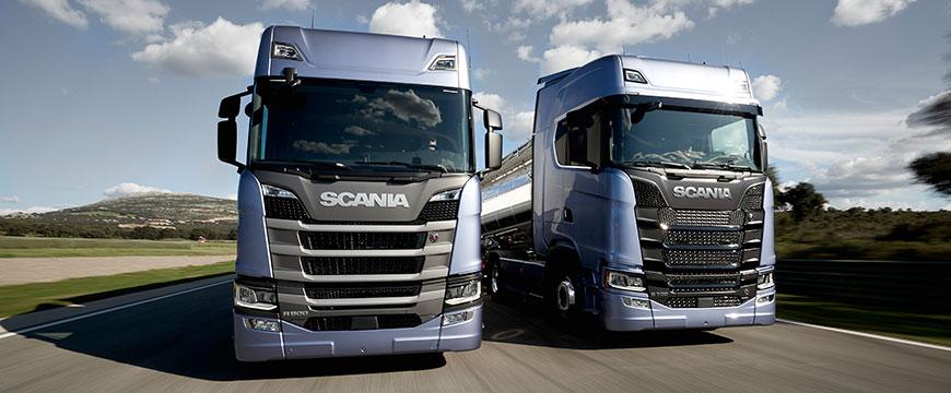 Nova geração camiões Scania