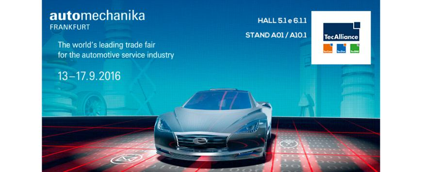 TIPS 4Y com a TecAlliance na Automechanika Frankfurt 2016