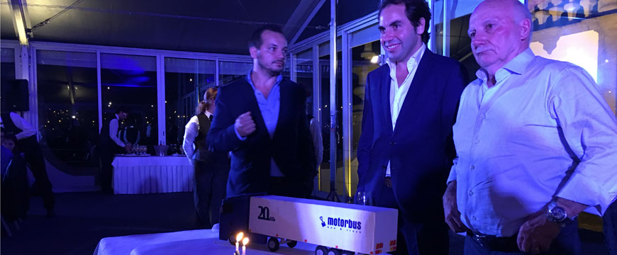 20 anos de Motorbus comemorados em festa