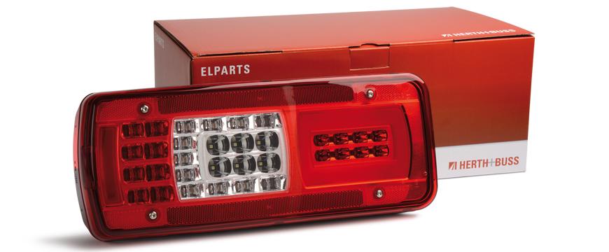 Elparts + DAF + LED
