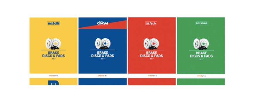 Metelli tem novo catálogo de discos e pastilhas de travão