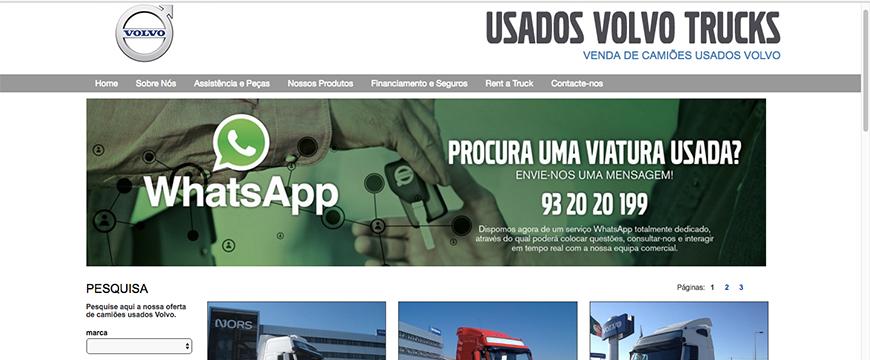 Volvo Trucks whatsapp