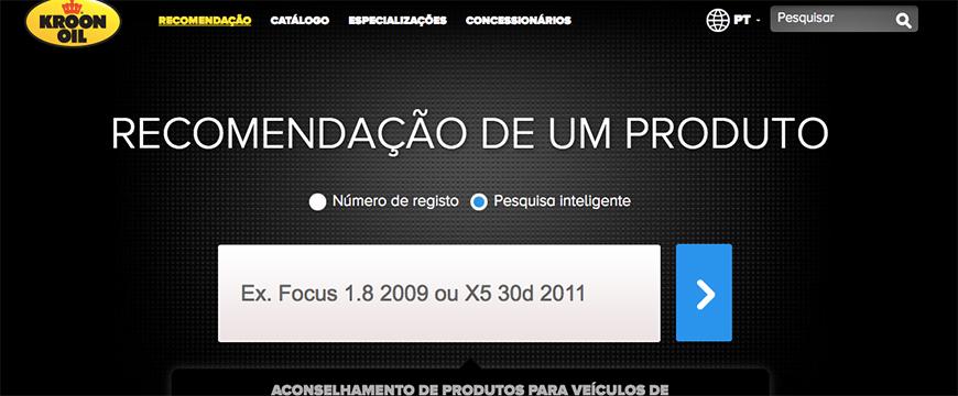 Kroon-Oil lança site em português