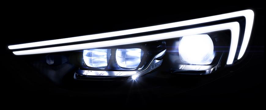 Opel Insignia iluminação