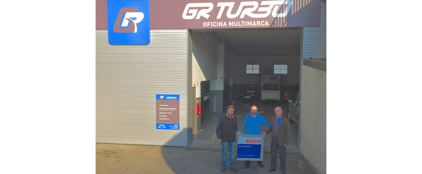 GR Turbo é oficina certificada Bosch Injection Systems