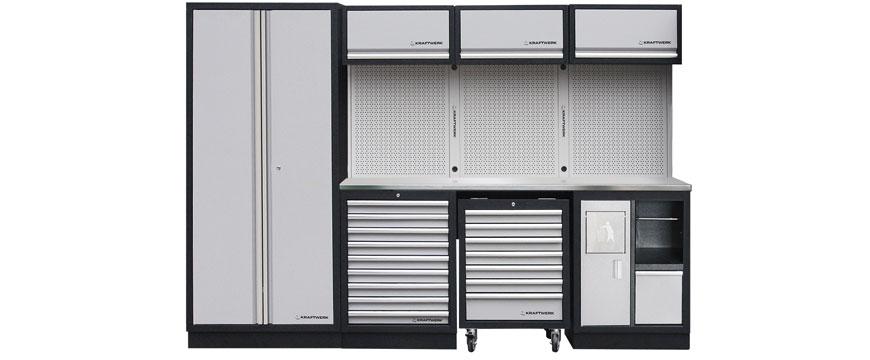 Novo mobiliário para oficina da Kraftwerk
