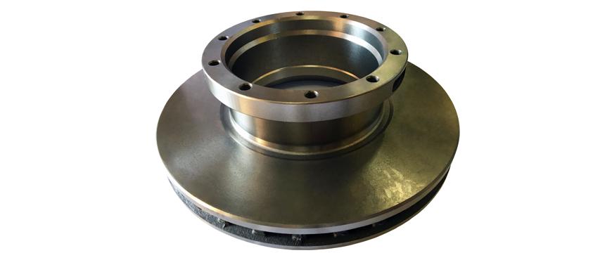 ALEA lança discos de travão para pesados