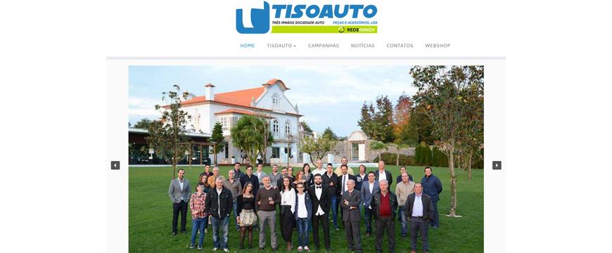 Tisoauto renova a sua presença online