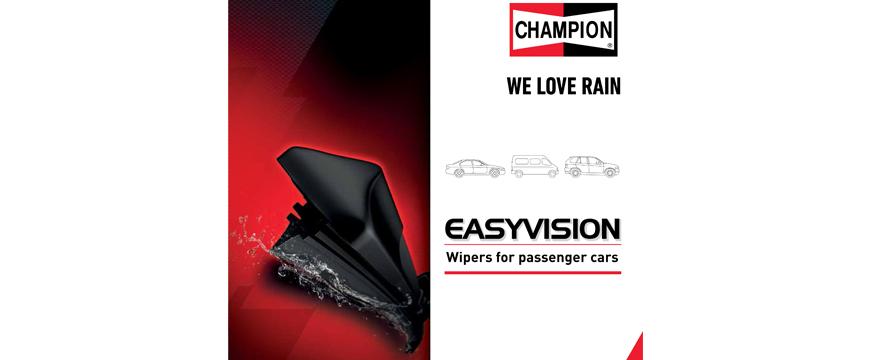 Champion lança novo catálogo de escovas Easyvision