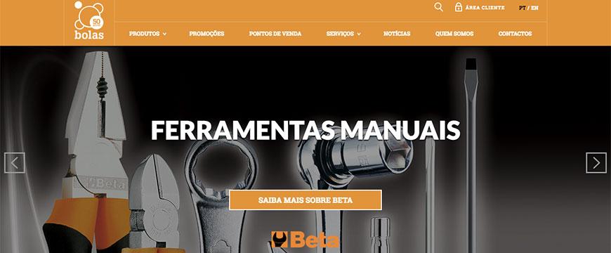 Novo site Bolas